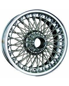 Dayton Wire Wheel-Aston-Martin-DB2, DB3, DB4, DBS-Tube Type-16x5-72-Chrome