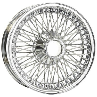 Dayton Wire Wheel-AC-AC, Ace, Bristol-Tube Type-16x4-72-Chrome