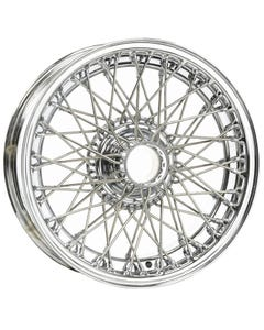 14x5 Dayton Wire 60 Spoke Chrome TT