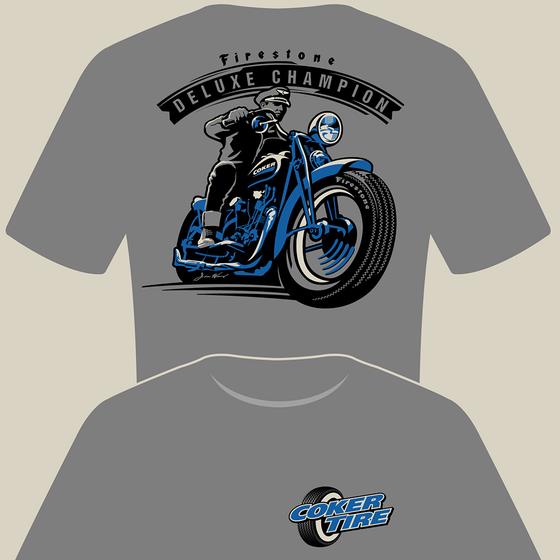 Firestone Deluxe Champion T-Shirt | Small