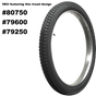Excelsior Beaded Edge Tires