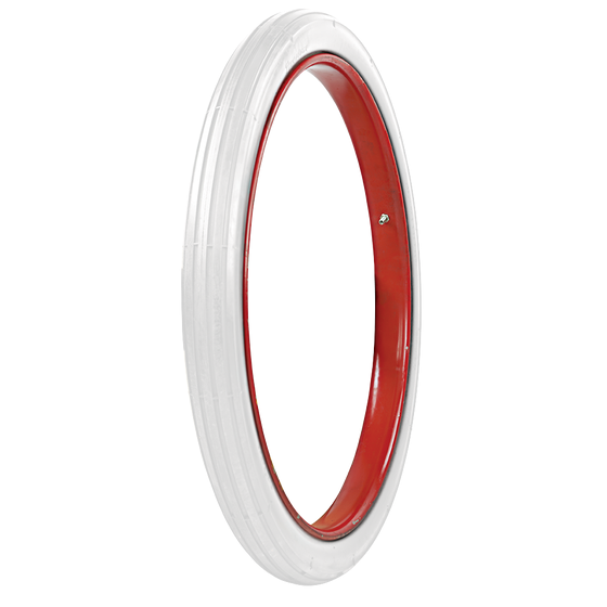 Firestone Cycle | All White | Clincher | 28X2.25
