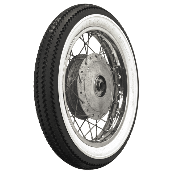 Firestone Deluxe Champion Cycle | Wide Whitewall | 325-16