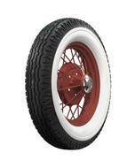 Firestone Bias Ply | Deluxe Champion | Antique | Wide Whitewall