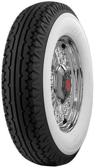 Firestone | 4 1/4 Inch Whitewall | 700-17
