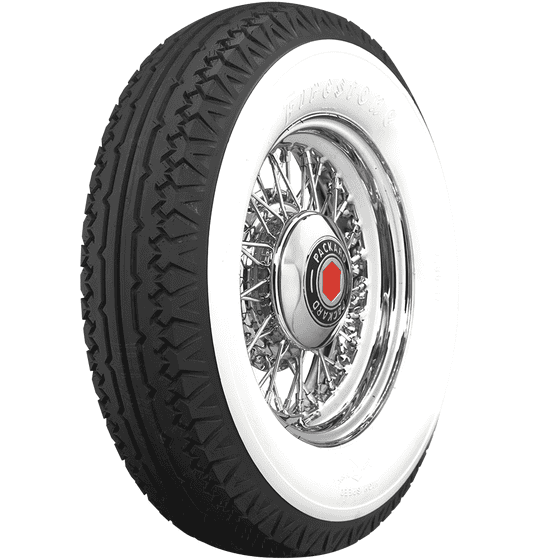 Firestone | 4 3/4 Inch Whitewall | 750-18