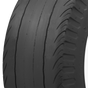 Firestone Dragster Cheater Slick | 1 7/8 inch Whitewall | 1000-16