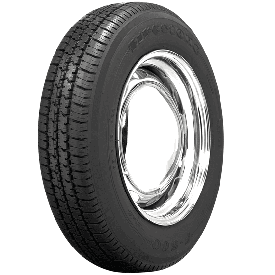 Firestone F560 Radial Tire | 155R15