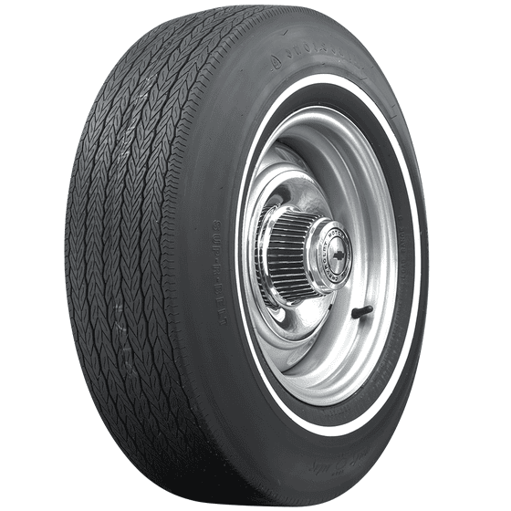 Firestone Wide Oval | Pin White Stripe | D70-14