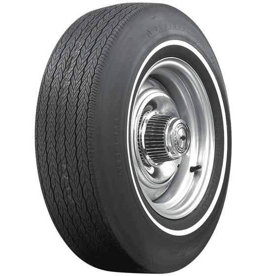 Firestone Wide Oval | Pin White Stripe | E70-14