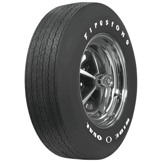 Firestone Wide Oval | Raised White Letter | F70-15