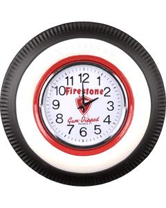 Clock | Vintage Firestone | Lighted