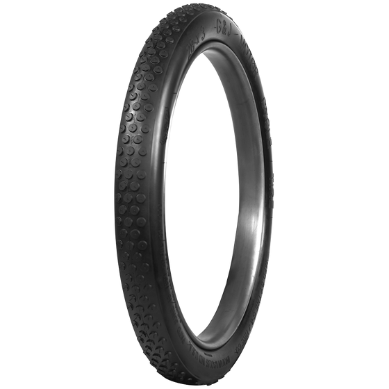 G&J Button Tread Motorcycle Tires | Black