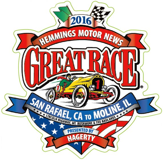2016 Great Race | Pin