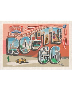 Great Race 2015 Route 66 Postcard