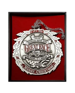 Great Race Ornament 2016