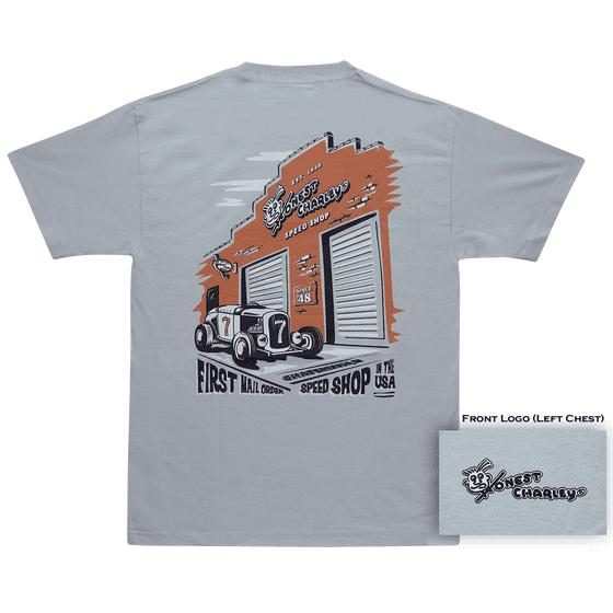 Honest Charley Store Front T-Shirt | Medium