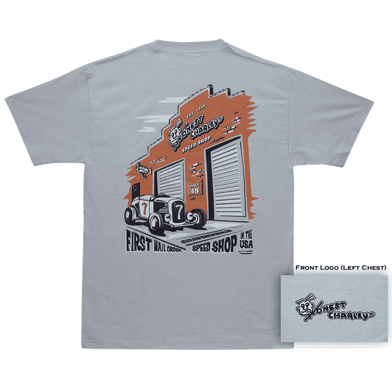 Honest Charley Store Front T-Shirt | 2X Large