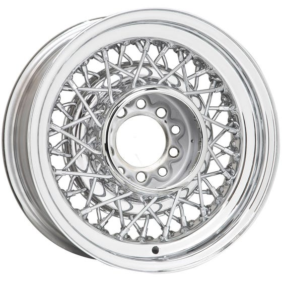 16x7 Hot Rod Wire Wheel | 5x5.5 bolt | Chrome | Discontinued