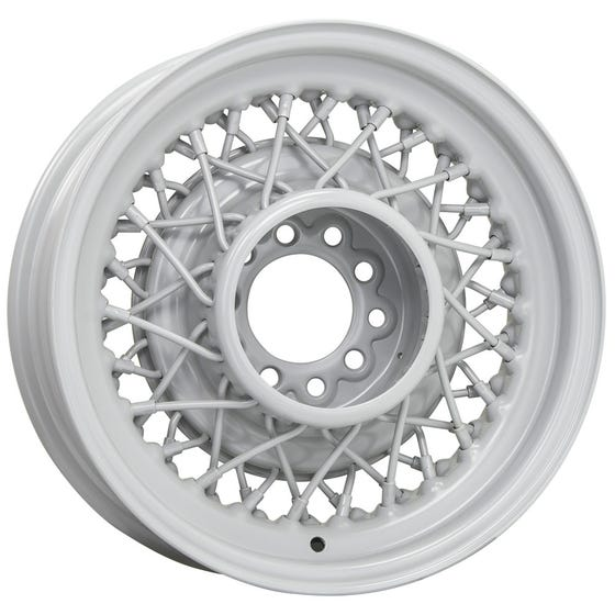 15x7 Hot Rod Wire wheel   5x5 bolt   Primed   Discontinued
