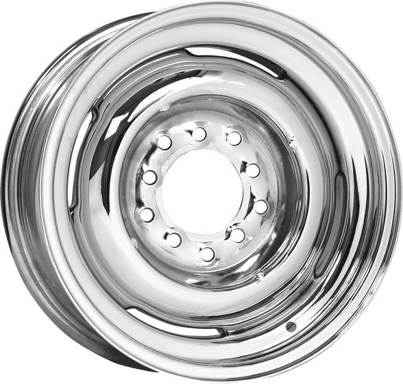 Hot Rod Steel Wheel | Chrome