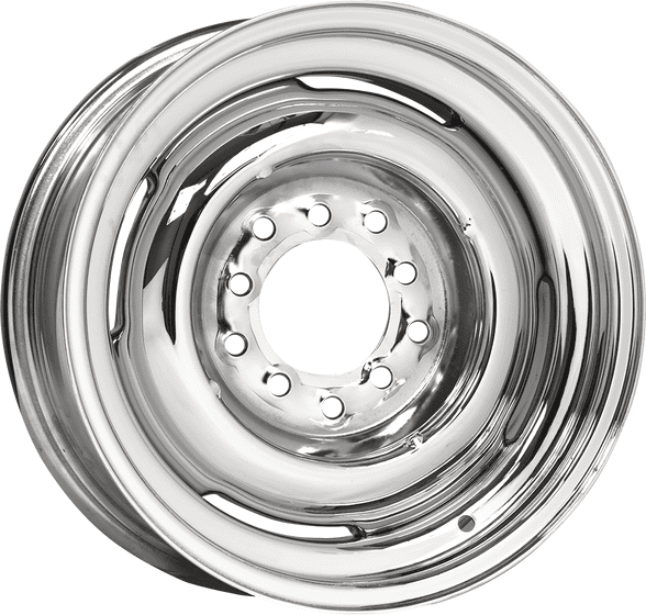 "16x8 Hot Rod Steel | 5x5, 5x5 1/2"" bolt 