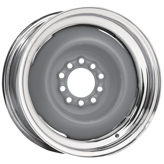 "17x7 Hot Rod Steel | 5x5 1/2"" bolt 
