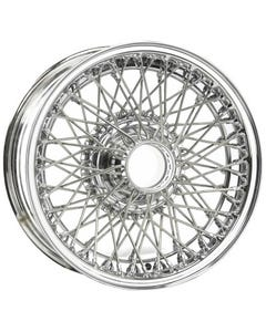 Dayton Wire Wheel-AC-Cobra-Tubeless-15x6-70-Chrome