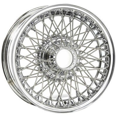 Dayton Wire Wheel-AC-Cobra-Tubeless-15x6-70-Chrome