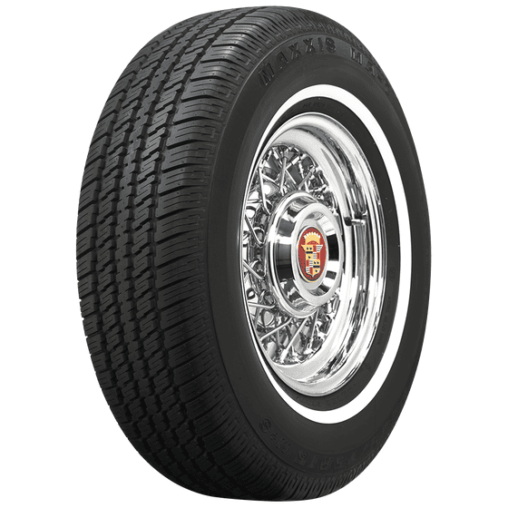 Maxxis | 3/4 Inch Whitewall | 225/75R15