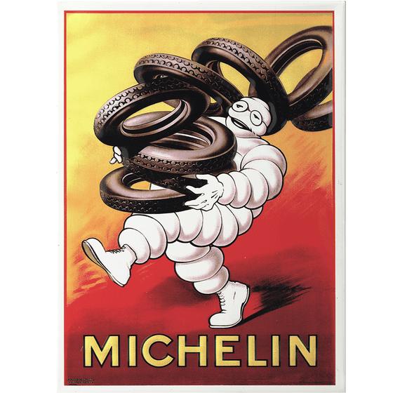Postcard | Michelin | Bib Carrying Michelin
