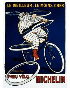 Postcard | Michelin | Pneu Velo
