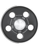 Mopar Rallye Cap | Dark Gray | 5x4 1/2