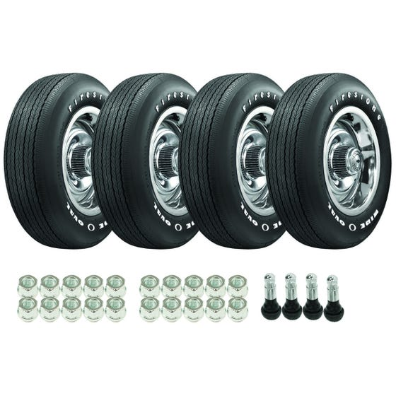 1970-1972 OE Corvette Tire / Wheel Package