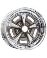 Chrome Pontiac Rallye II Wheel Chrome Rallye II Wheels