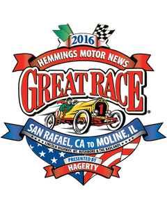 2016 Great Race | Sticker