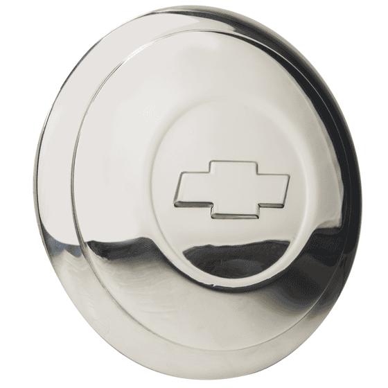 "Hot Rod Wire Cap | Chevrolet Bowtie | 5.75"" Back Diameter"