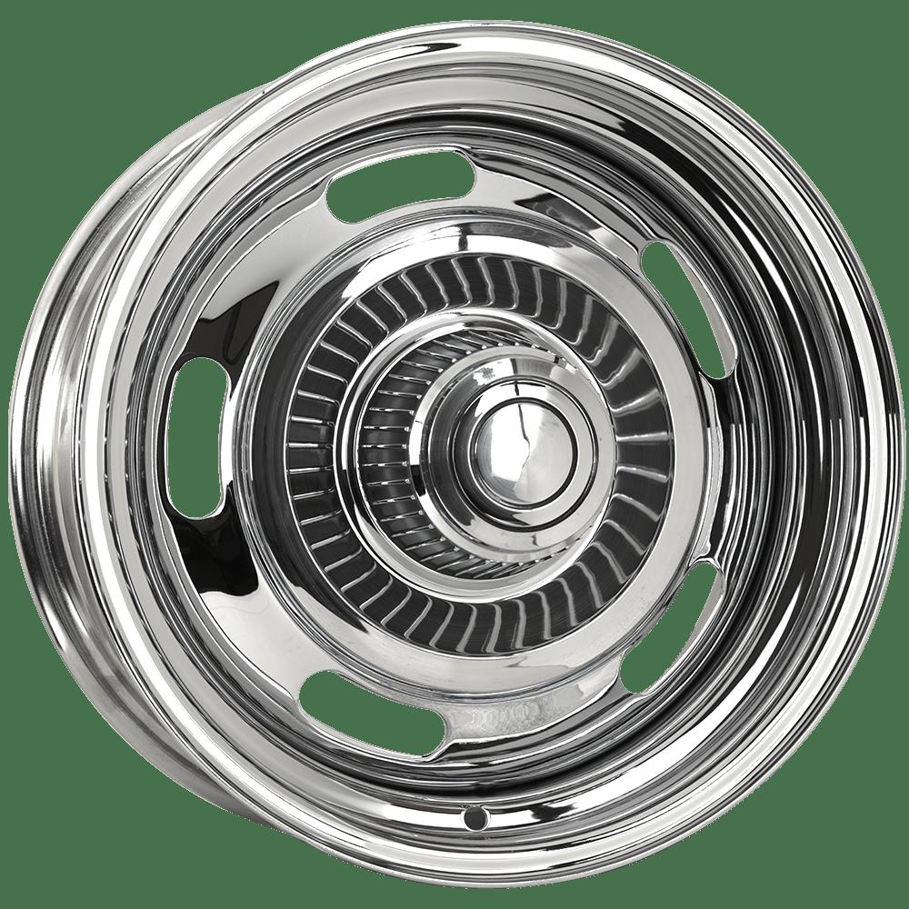 Chrome Chevy Rally Wheels Corvette Rallye Wheels