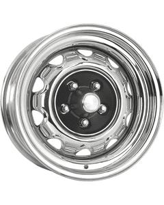 "15x7 Mopar Rallye   5x4 1/2"" bolt   4.25"" backspace   Chrome finish"