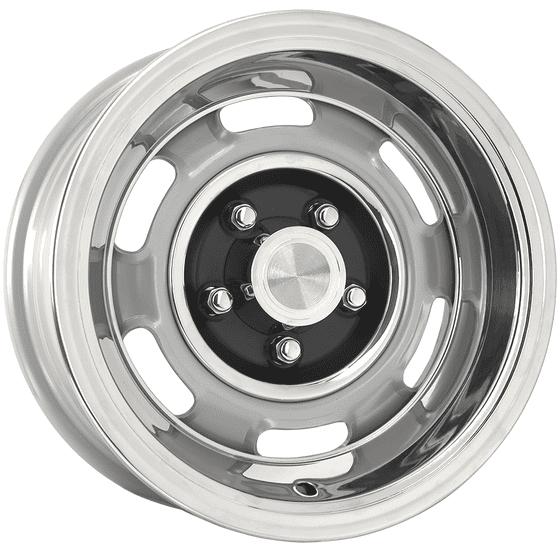 "15x7 Pontiac Rallye I | 5x4 3/4"" bolt | 4.25"" backspace | Silver Powder Coat finish"