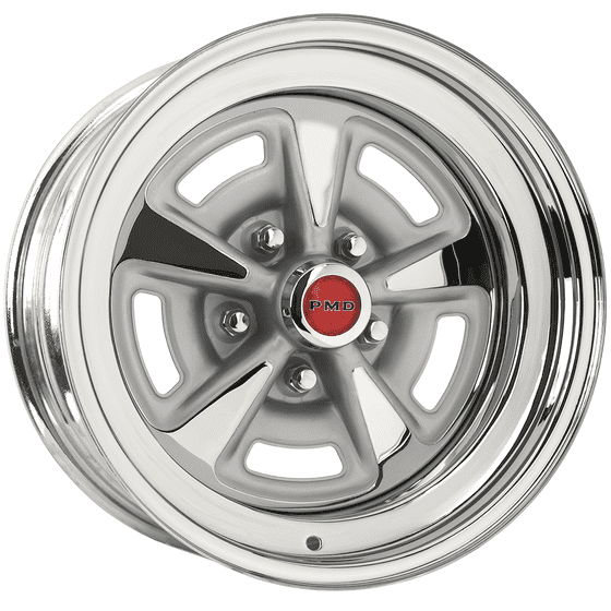 "15x8 Pontiac Rallye II | 5x4 3/4"" bolt 