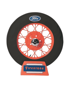 Spare Tire Cover | 19 Inch | Ford Logo (Black)