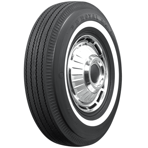 U.S. Royal Tires | Pie Crust | Narrow Whitewall