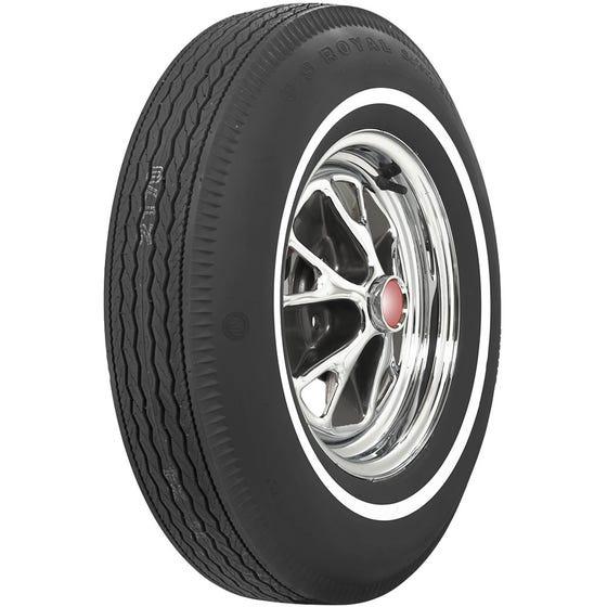U.S. Royal Tires | 6.95-14 | Narrow Whitewall