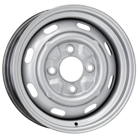 15x5.5 OE style VW | 4x130mm 4.25 backspace | Silver