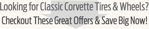 Classic Chevrolet Corvette Tire & Wheel Guide from Coker Tire Company