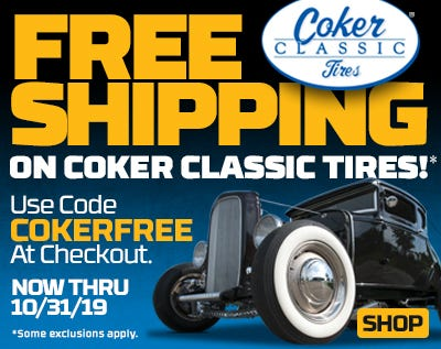 Free Shipping on Coker Classic Tires in October!
