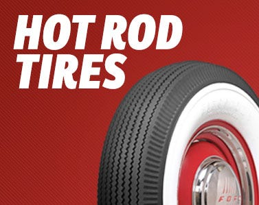 Huge Selection of Authentic Tires for Hot Rods