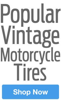 Our Most Popular vintage Motorcycle Tires On Sale Now!