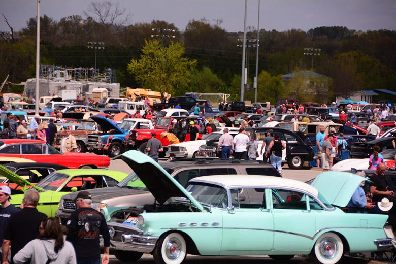The 2019 Chattanooga Cruise In Breaks All the Records!